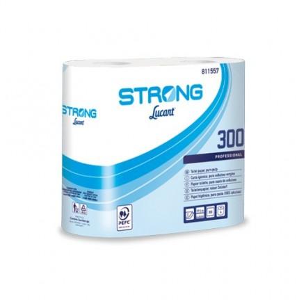Higiénico Strong Lucart 300 (56 rollos)
