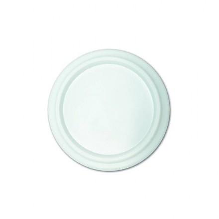 Tapa plana para vaso foam 7 oz 210 cc (100 Uds)