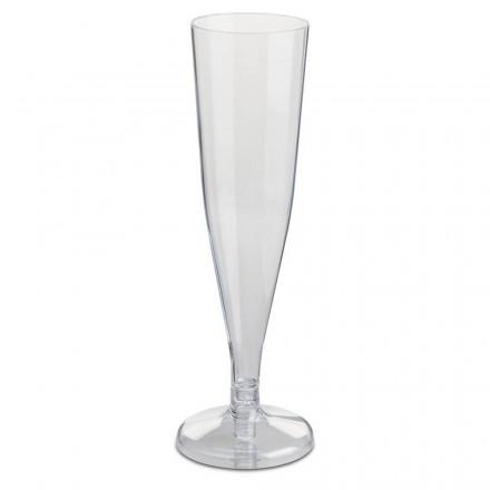 Copa de Plástico para Cava 150 cc (8 Uds)