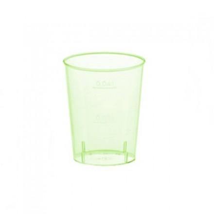 Vaso Chupito de Colores 40 cc Verde