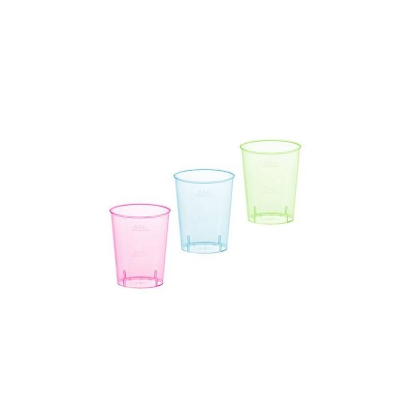 Vaso Chupito en 3 Colores 40 cc