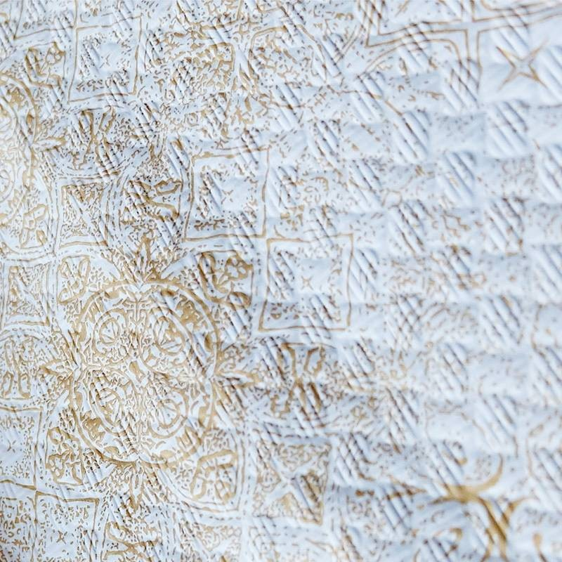 Mantel 100x100 cm Gama Tesela (400 Uds) Crema