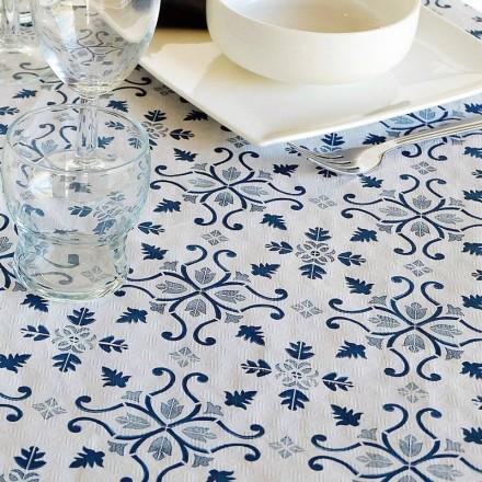 Mantel 100x100 cm Gama Claudia (400 Uds) Azul