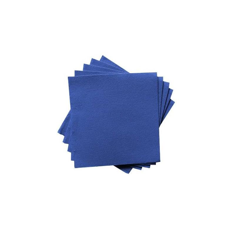 Servilleta de Papel 20x20 Azul oscuro