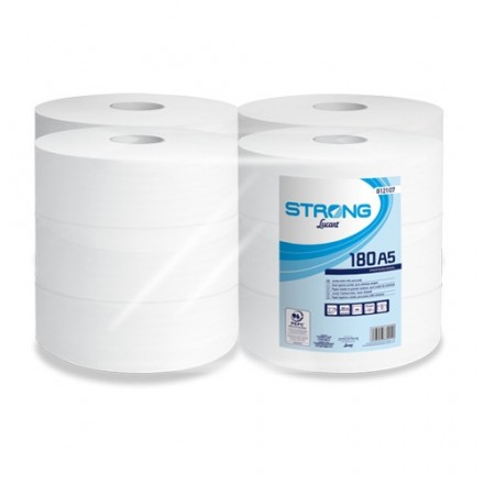 Higiénico Industrial Strong Lucart 180 A5 (12 Uds)
