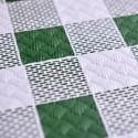 Mantel de Papel 100x100 cm Cuadros (400 Uds) Verde