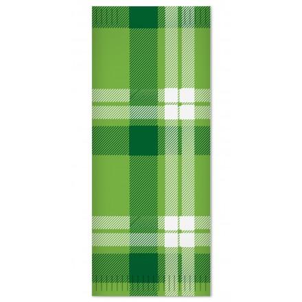 Sobre Para Cubierto Escocés verde