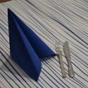 Mantel Rayas Azul 100x100 cm (400 uds)