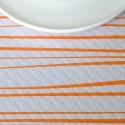 Mantel Rayas naranja 100x100 cm (400 uds)