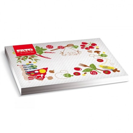 Mantel Individual 30x40 cm Pizza Chef (250 Uds)
