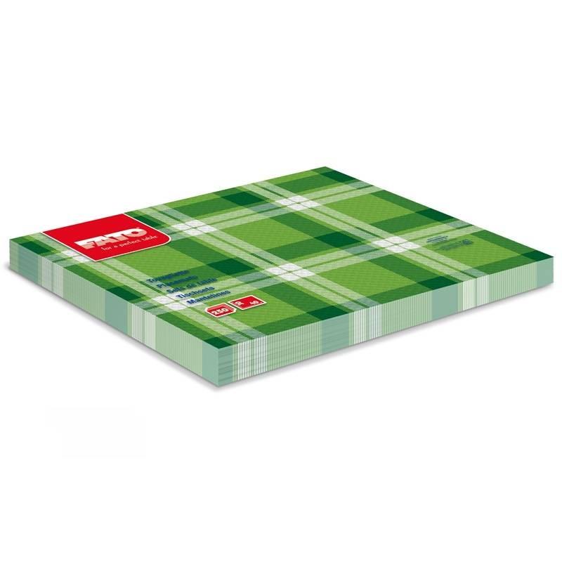 Mantel Individual 30x40 Escoces verde