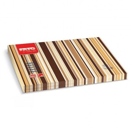 Mantel Individual 30x40 cm Rigoletto Cacao (250 Uds)