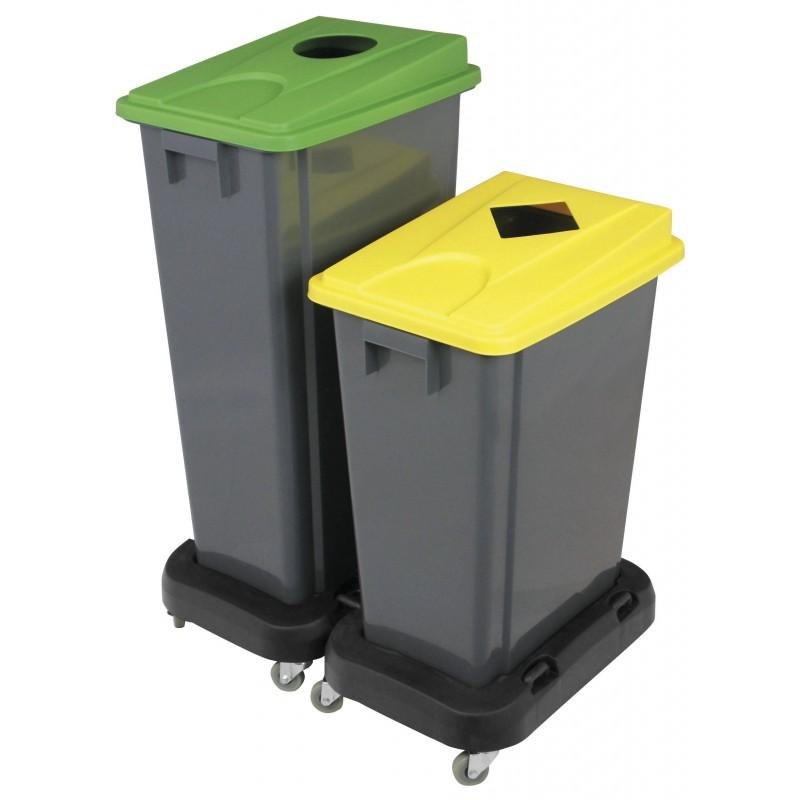 Tapa Gris para contenedor 60 y 80L
