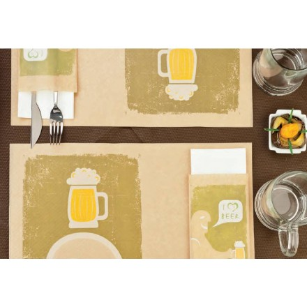 Sobre para cubiertos Cerveza (1.000 Uds)
