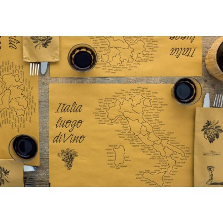 Mantel individual 30x40 cm Vino (500 Uds)