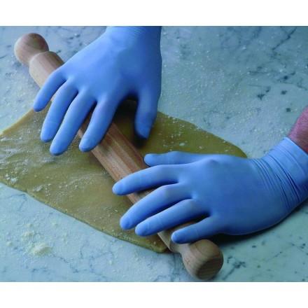 Guantes Vinilo azul SIN Polvo (100 uds.)