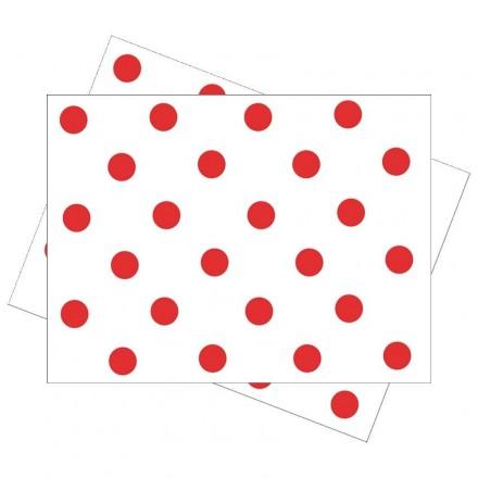 Salvamantel 30x40 cm Feria Rojo (100 Uds)