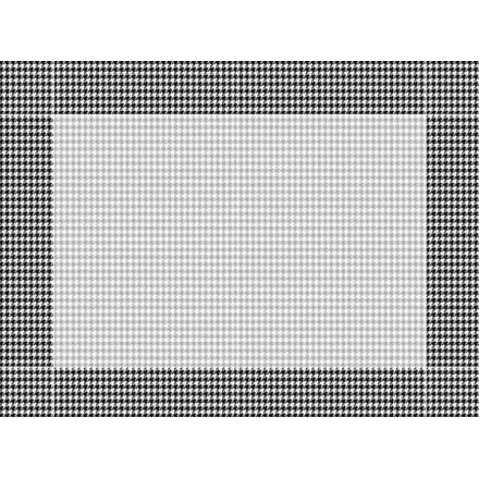 Mantel Individual Pata Gallo Negro 30x40 cm (500 Uds)