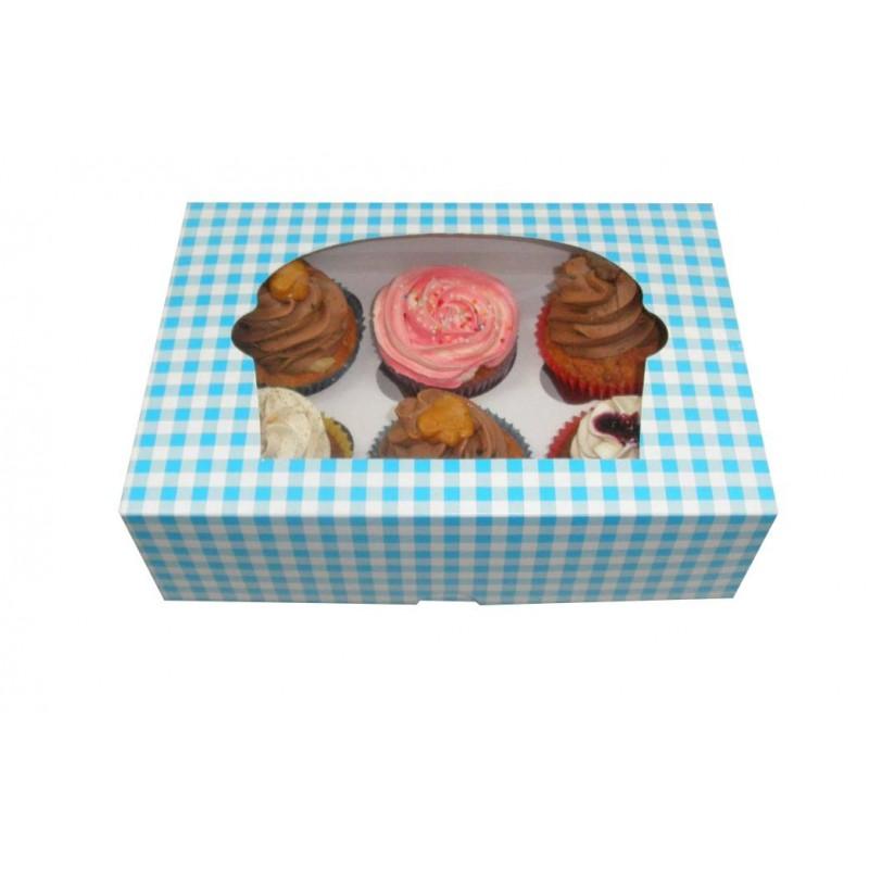 Cajas para Cupcakes de 6 unidades