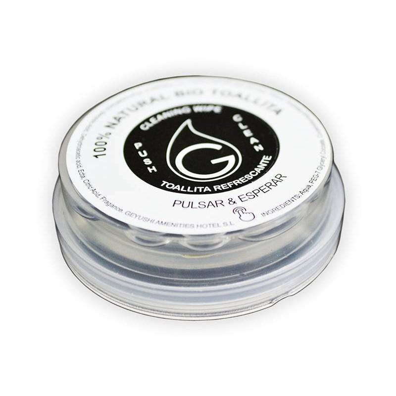 Toallita compacta biodegradable (300 Uds)