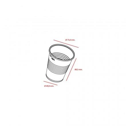 Vaso de Plástico 220 cc Blanco Base Ancha