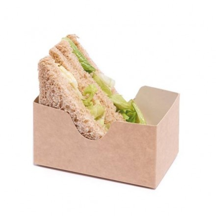 Estuche sándwich Kraft...