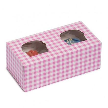 Cajas para Cupcakes de 2 unidades