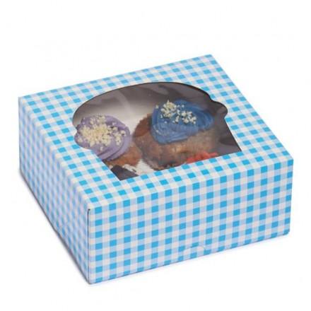 Cajas para Cupcakes de 4 unidades