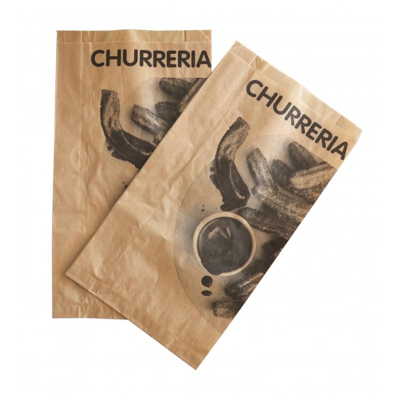 Bolsa papel kraft para churreria (1.000 uds.)