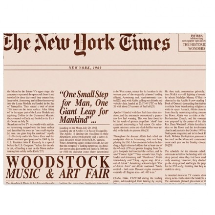 Mantel individual Periódico de 30x45 cm (200 Uds)