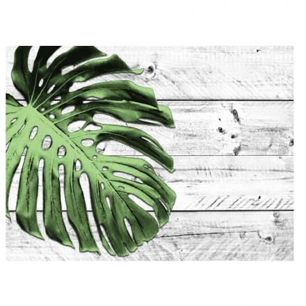 Mantel Individual Hoja Tropical 30x40 cm (500 Uds)