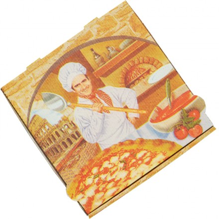Caja Pizza Roma (Pack 100 uds)