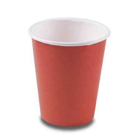 Vaso Cartón Rojo 295 cc 8-9...