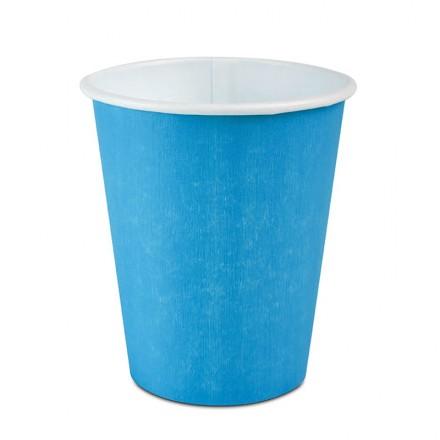 Vaso Cartón Azul 295 cc 8-9...