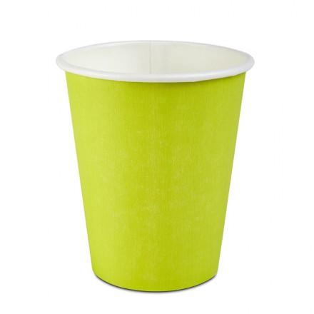 Vaso Cartón Verde 295 cc...