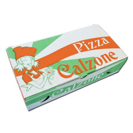 Caja Pizza Calzone Decorada...