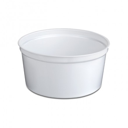 Tarrina blanca 500 cc