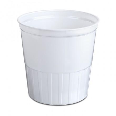 Tarrina blanca 1.000 cc