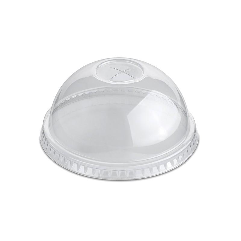 Tapa de plástico cúpula con cruz