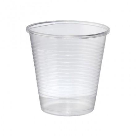 Vaso de Plástico Transparente 150 cc.
