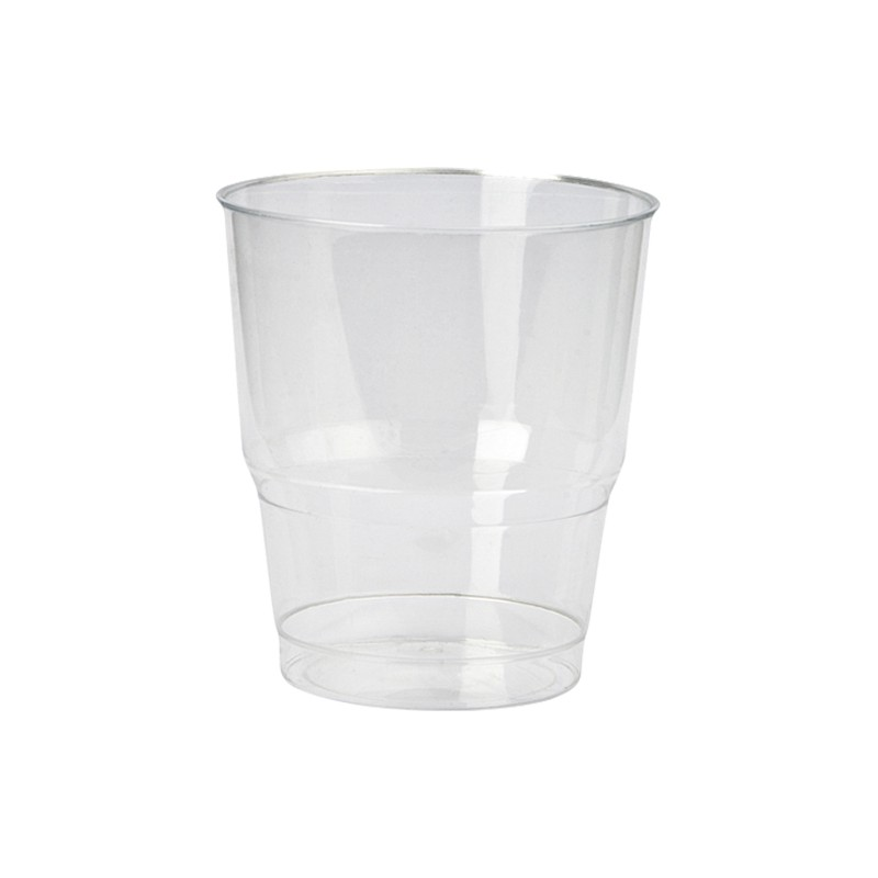 Vaso de Plástico para Whisky 225 cc.