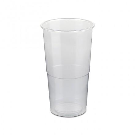 Vaso de plástico 420 cc.