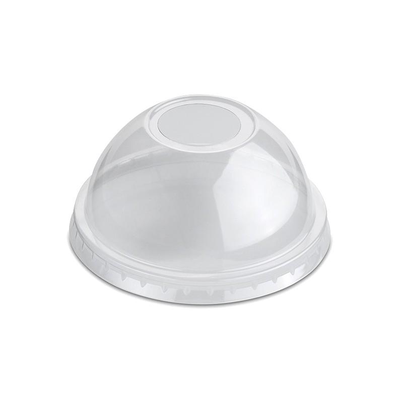 Tapa de plástico cúpula con agujero