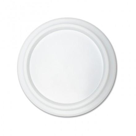 Tapa plana para vaso foam 5 oz. (100 uds.)
