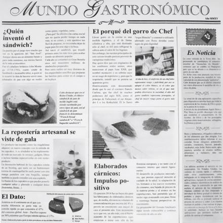 Papel Parafinado Impreso Periódico