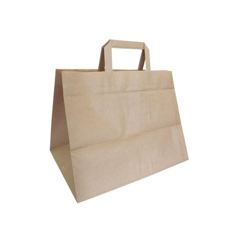 Bolsa papel Kraft para Take Away y Delivery