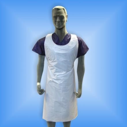 Delantal Polietileno Blanco (100 uds.)