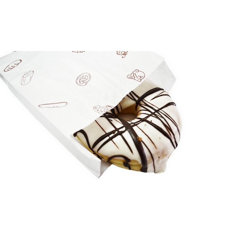 Bolsa de papel para Bollería 12+6x20 (1.000 uds.)