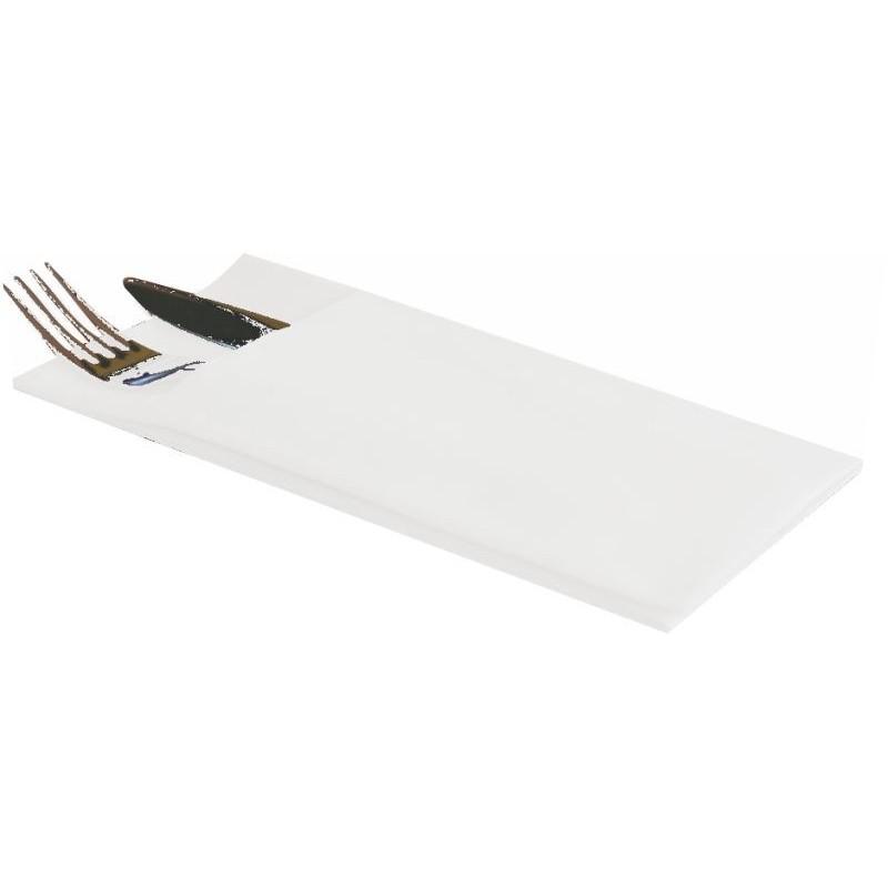 Servilletas Kanguro 40x40 blancas