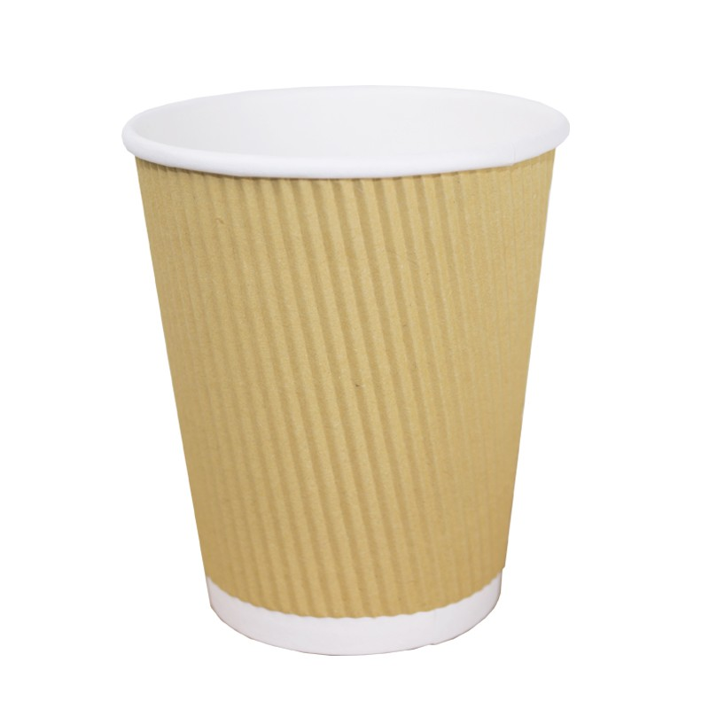 Vaso Cartón Corrugado Ecológico (360 cc)